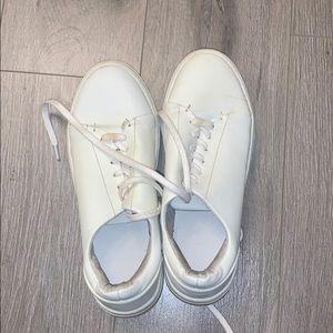 DLG white sneakers